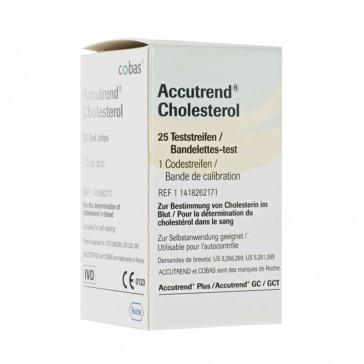 Accutrend Plus - 25 Test Cholestérol