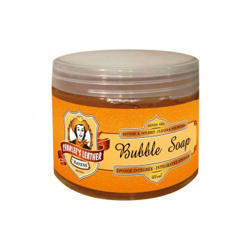 Charlee's Leather Bubble Soap - 400 ml