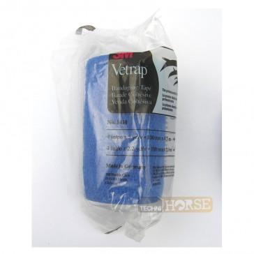 Vetrap Bande Cohésive Bleue - 10 cm