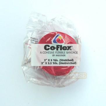 Co-Flex Bande Cohésive 5 cm Rouge