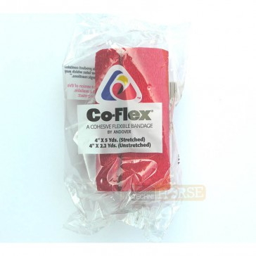 Co-Flex Bande Cohésive 10 cm Rouge