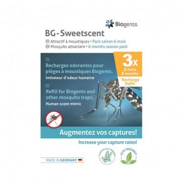 Biogents Pack Saison BG-Sweetscent - 6 Mois