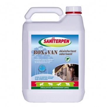 Saniterpen Box et Van Désinfectant - 5 Litres