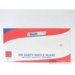 Gants Vinyles à Usage Unique - Ambidextres Taille 6/7